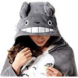 Sp Mall Creative Gift Cute Totoro Cloak / Pajamas / Air Conditioning Blanket