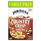 Jordans Country Crisp with Chunky Nuts (850g) - Pack of 2