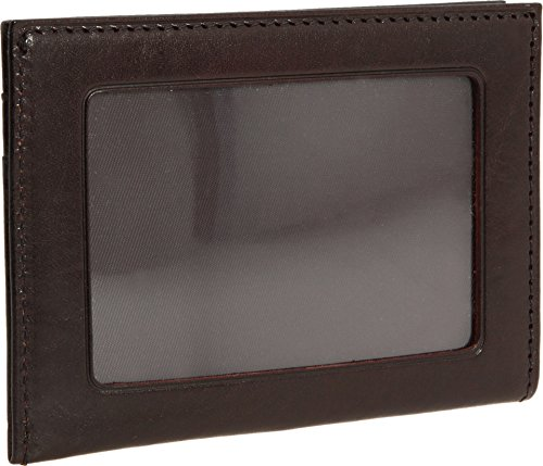 Bosca Mens Old Leather - Bosca Men's Old Leather Collection - Weekend Wallet Dark Brown Leather One Size