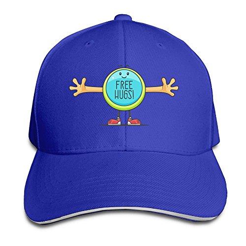 FOOOKL Free Hugs Cap Unisex Low Profile Cotton Hat Baseball