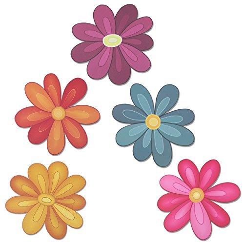 Flower Power Decorative car Magnet Set]()