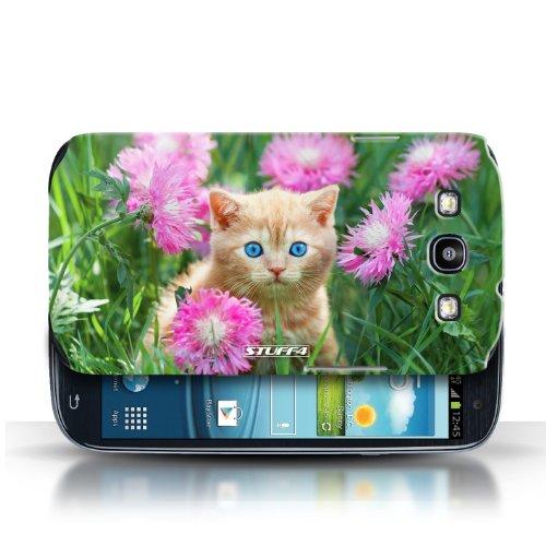 Coque en plastique pour Samsung Galaxy S3/SIII Collection Chatons mignons - Jardin