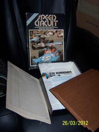 Avalon Hill Speed Circuit Bookshelf Game 1977