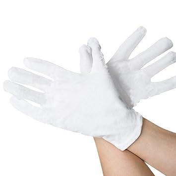 Ndier 2 Stk Verdickte Baumwollhandschuhe Arbeitsschutz Anti Rutsch