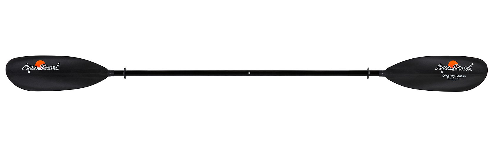 Aqua-Bound Sting Ray Carbon 2-Piece Snap-Button Kayak Paddle