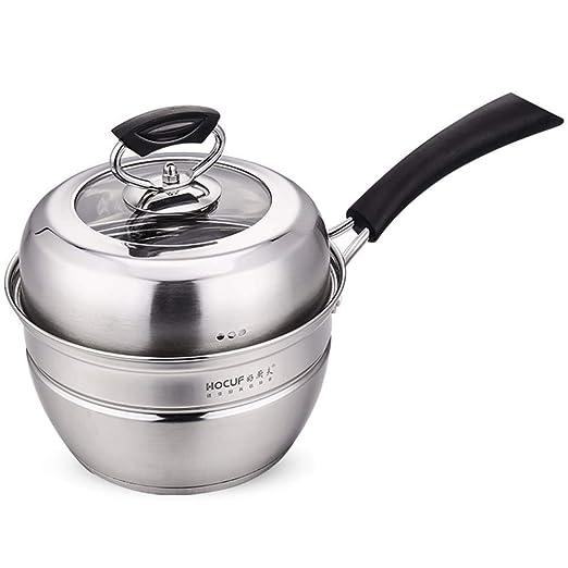 Olla a vapor mini de acero inoxidable chino, cocción al ...