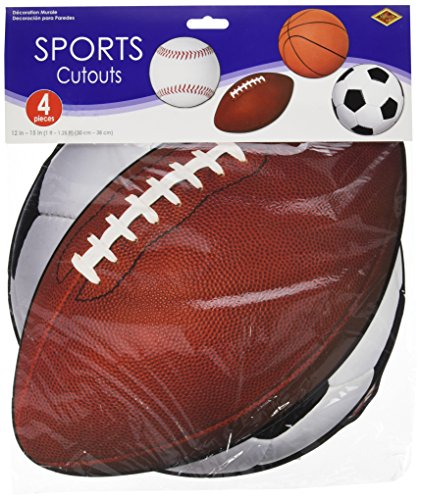 Sports Cutouts   (4/Pkg) (Baseball Cutout)