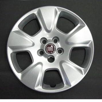 Desconocido Set de 4 embellecedores nuevos para Fiat Doblo 2010> con Llantas Originales de 15