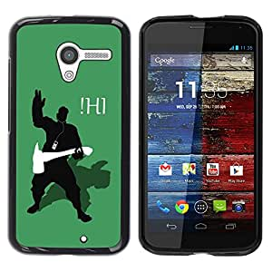 Impact Case Cover with Art Pattern Designs FOR Motorola Moto X 1 1st GEN I Funny iHi Betty shop