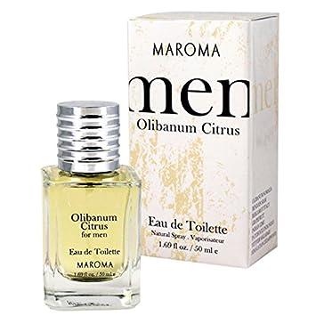 Maroma Eau de Toilette Spray, Olibanum Citrus, 1.69 Fluid Ounce