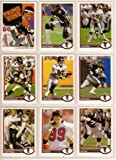 Atlanta Falcons 1991 Upper Deck Football Master Team Set with High Numbers***Premier Issue*** (Deion Sanders) (Chris Miller) (Andre Rison) (Brian Jordan) (Eric Pegram Rookie) and More