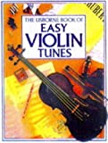 img - for The Usborne Book of Easy Violin Tunes book / textbook / text book