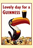 Guinness Poster, Lovely Day for a Guinness, Tucan, Weather Vane