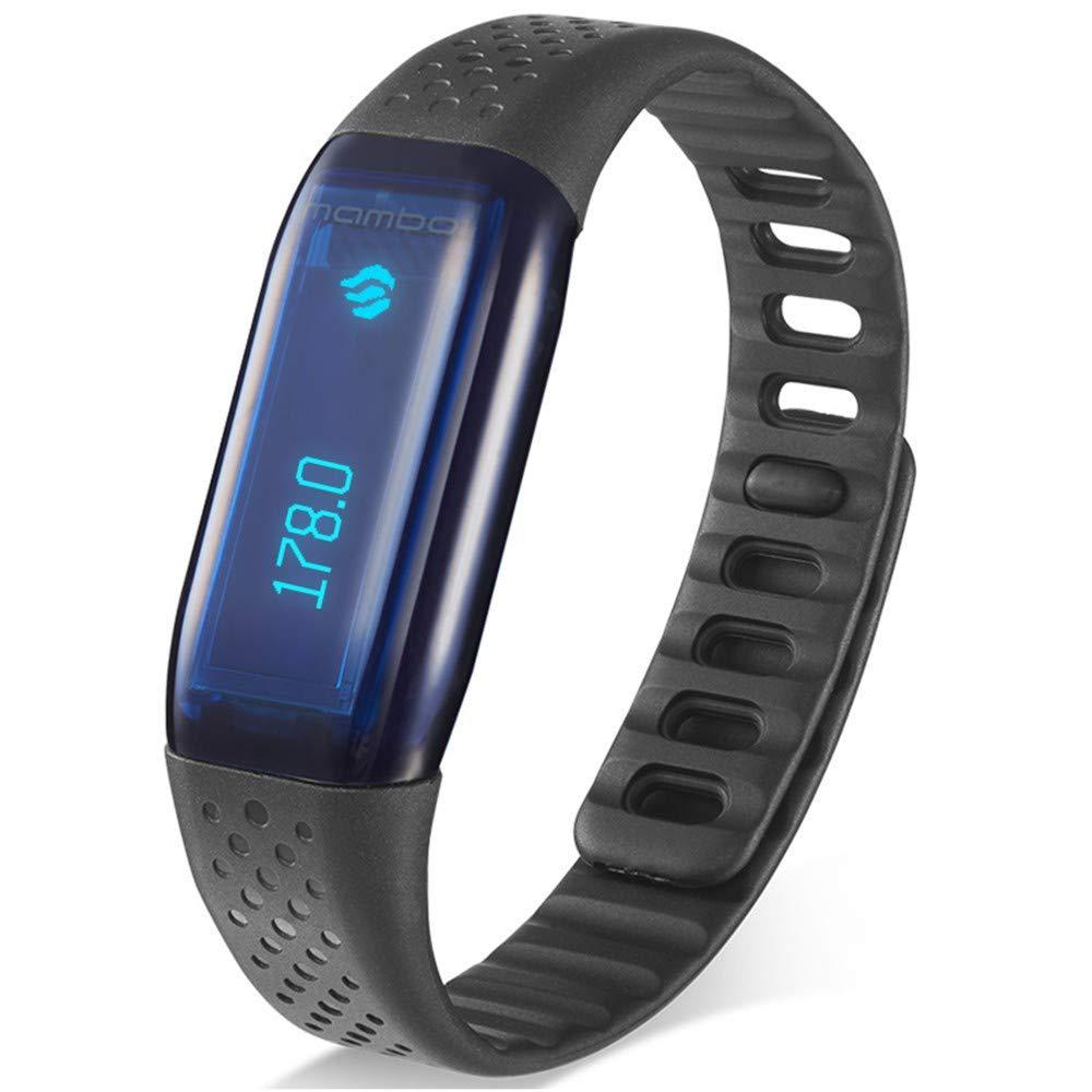 MI-Pedometri Smart Armband Herzfrequenz Armband Licht Sinn Anrufer ID Vibration Erinnerung Schritt wasserdicht Profisport Armband WeChat Internet