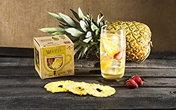 Exotic Dried Pineapple Infusion Box (Contains 6 sachets of 15g of pineapple Infusion flavors) 90g/3.17 oz...