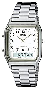 Casio General Men's Watches Digital-Analog Combination with 10 Year Battery Life AQ-230A-7BMQ - WW