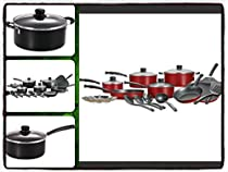 Cookware Set Kitchen Sets 18 Pieces Anodized Nonstick Aluminum Stainless Steel - It Only Comes Along with Our Company