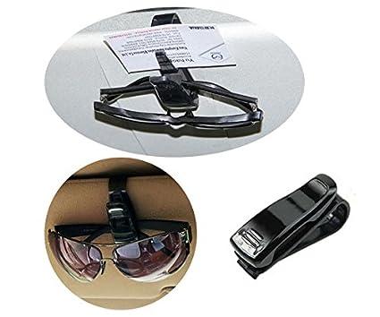 Black GL Fashions/® Car Sun Visor Dual Sun Glasses Ticket Card Pen Holder Clip