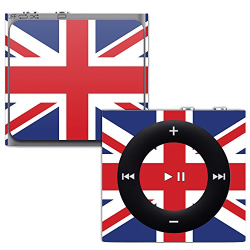 MightySkins Skin for Apple iPod Shuffle 4G - British Pride | Protective, Durable, and Unique Vinyl Decal wrap Cover | Easy to Apply, Remove, and Change Styles | Made in The USA (Silicone Protective Shuffle Case)