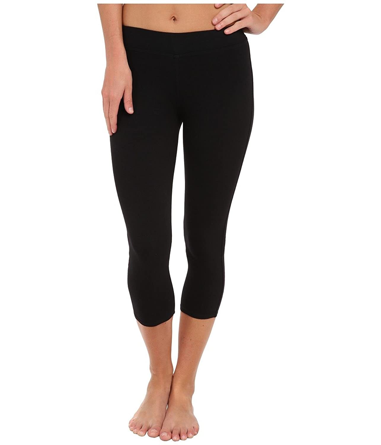 Three Dots Women's Cotton Stretch Cropped Legging