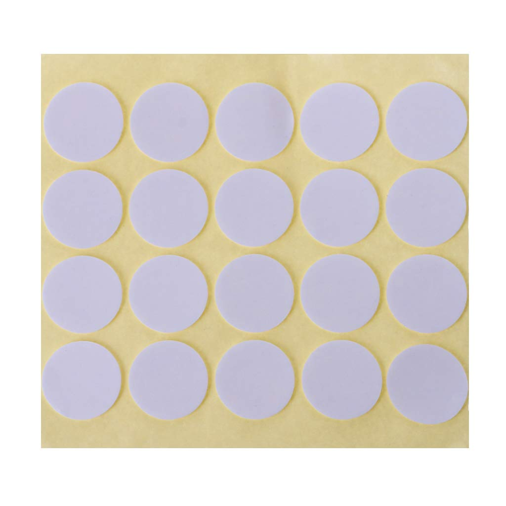 Ruda Wick Double-Sided Stickers Foam Adhesive Dots Candles Making Supplies for Candle DIY and Candle Marking 20 Pcs
