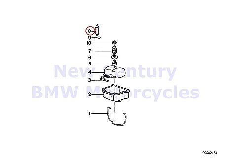 2 x BMW motocicleta carburador aguja del flotador R60/6 R75/6 R90/