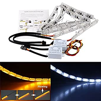 Car led strip lights waterproof onever flexible led strip lighting car led strip lights waterproof onever flexible led strip lighting 12v led daytime running light decorative car drl white mozeypictures Gallery