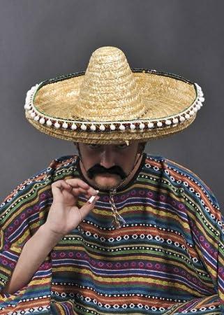 Sombrero paja mexicano auténtico  Amazon.es  Juguetes y juegos 76f5d6b6ee2