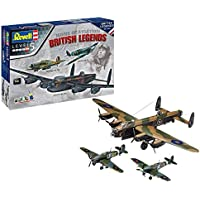 Revell Maqueta British Legends Spitfire VB, Hurricane IIb