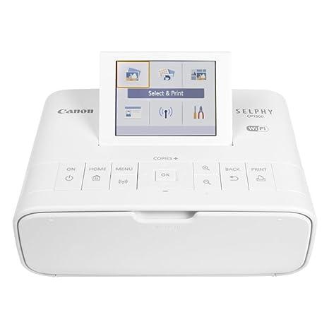 Amazon.com: Canon SELPHY CP1300 Impresora de fotos compacta ...