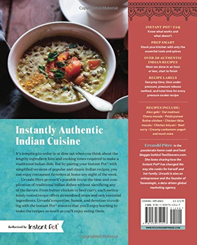 Indian Instant Pot® Cookbook: Traditional Indian Dishes Made Easy and Fast - smallkitchenideas.us