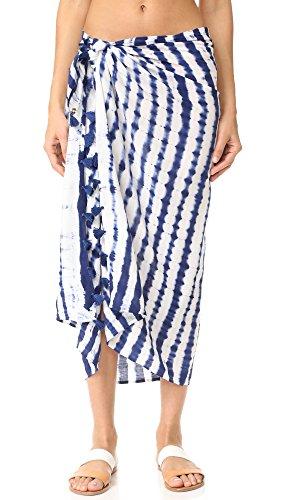 OndadeMar Women's Aralia Tie Dye Pareo, Tie Dye, One Size