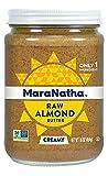 Maranatha Creamy Raw Almond Butter 16 oz Glass Jar - Single Pack