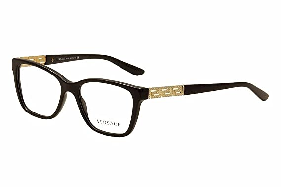 versace ve3192b eyeglass frames gb1 54 black
