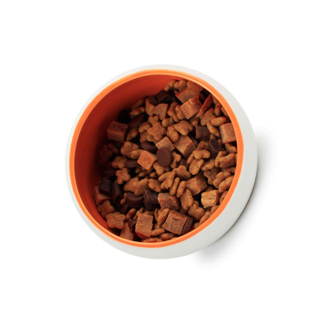 tianluo Pet Goods Space Capsule Ceramic Cat Bowl Food Feeding Bowl Non-Slip Kitten Small Drink Pet Supplies Tool Diameter 10cm by tianluo