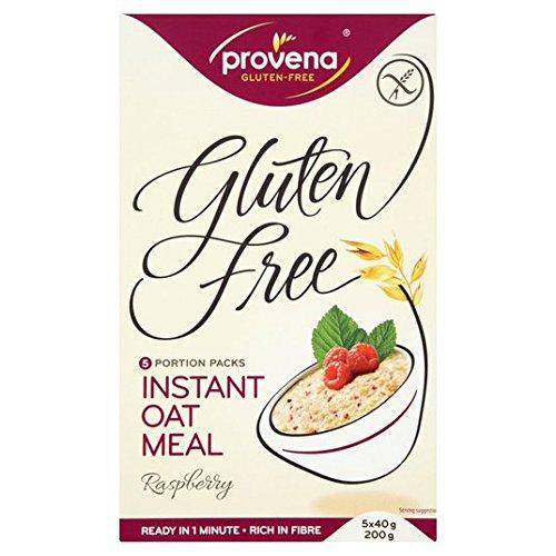 Provena Gluten harina de avena instantánea Frambuesa 5 x 40g: Amazon.es: Alimentación y bebidas