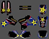 DST0209 3M Customized Motorcross Stickers Motorcycle Decals Graphics Kit for YAMAHA YZ80 1993 1994 1995 1996 1997 19981999 2000 2001