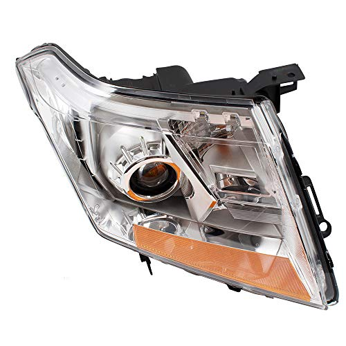 Srx Cadillac - Drivers Halogen Headlight Combination Headlamp Replacement for 10-13 Cadillac SRX 22853872 GM2502345