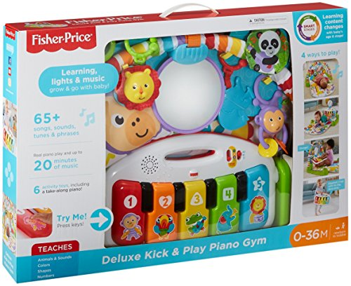 51nl5zZ2evL - Fisher-Price Deluxe Kick 'n Play Piano Gym