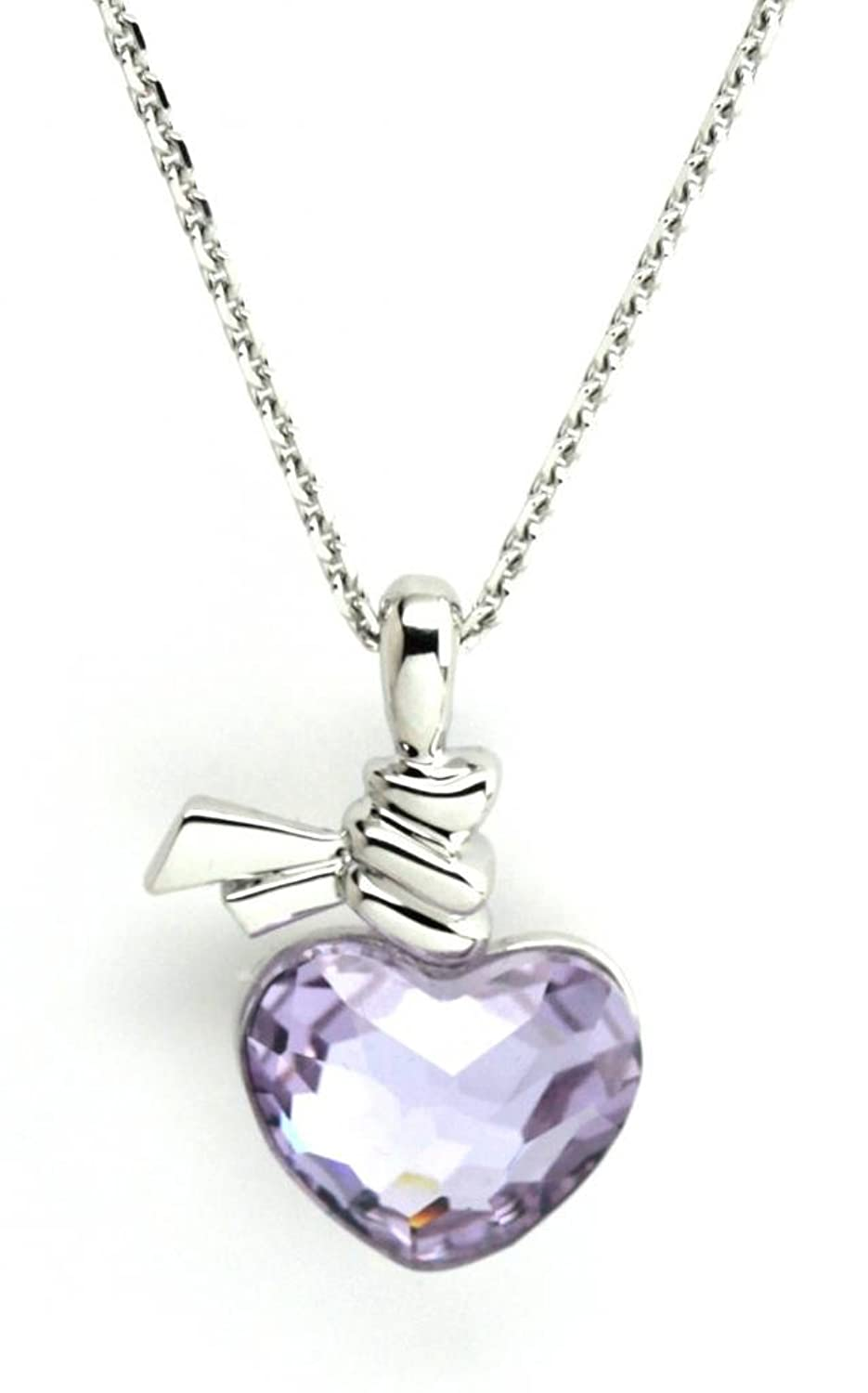 Swarovski Ties of Love Violet Pendant