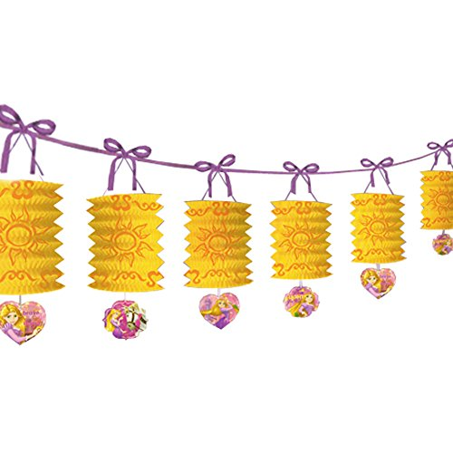 Tangled 'Dream Big' Paper Lantern Garland (12ft)]()