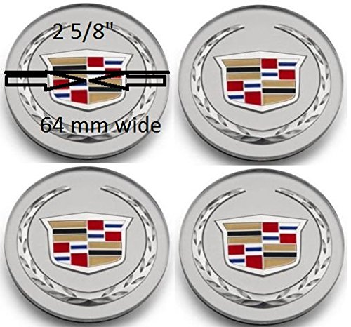 2004-2009 Cadillac DTS SRX CTS CTS-V XLR Wheel Center Hub Cap (Cadillac Cts Tires compare prices)