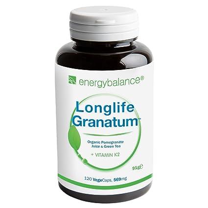 Longlife Granatum Nr. 1 Vitamina K2 569mg | MK-7 All-Trans ...