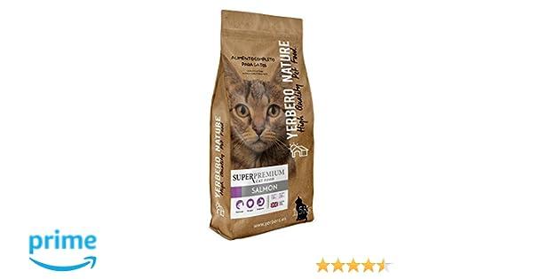 YERBERO Nature Salmon pienso superpremium para Gatos 1.5kg: Amazon.es: Productos para mascotas