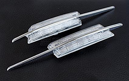 Amazon Com Led Clear Side Marker Lights Turn Signals For Bmw M E82