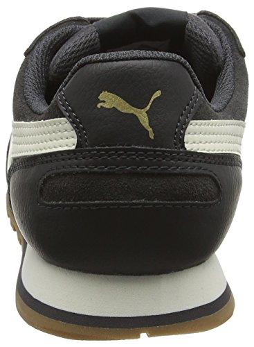 d'Athlétisme Mixte Strunnersdf6 Asphalt Chaussures Puma 09 Noir Adulte White v6TBnq