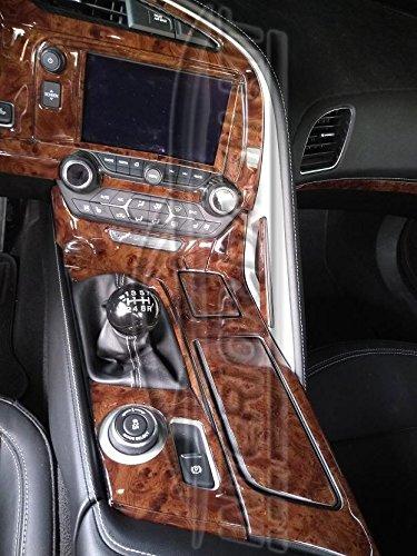 Amazon Chevrolet Chevy Corvette C7 C 7 Interior Burl Wood Dash