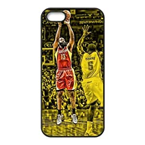 Diy Case for iPhone 5,5S ,James Harden Customized case Fashion Style UN872181