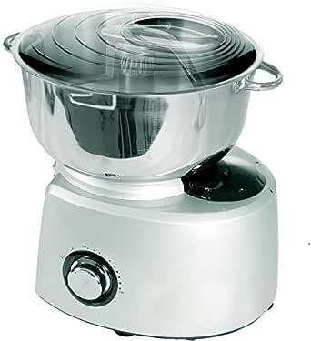 Syntrox Germany – XXL 5,8 litros Acero inoxidable Plata Food Processor Robot de cocina con accesorios): Amazon.es: Grandes electrodomésticos