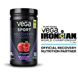 Vega Sport Post-Workout Recovery Accelerator, Apple Berry, 19oz, 20 Servings